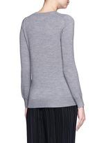 'Balloon Sailor' bead embellished Emma sweater