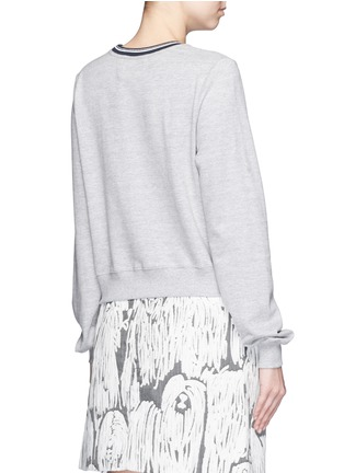 Back View - Click To Enlarge - MARKUS LUPFER - 'AHOY' sequin Katie sweatshirt