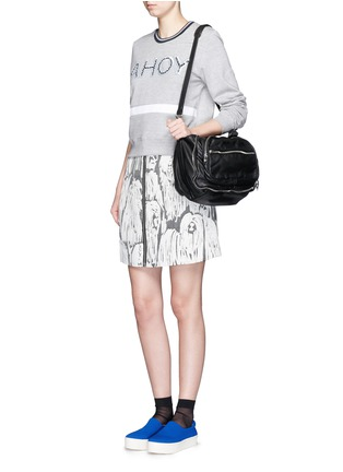 Figure View - Click To Enlarge - MARKUS LUPFER - 'AHOY' sequin Katie sweatshirt