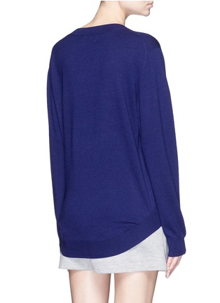 Back View - Click To Enlarge - MARKUS LUPFER - 'Lara Lip' sequin Joey sweater