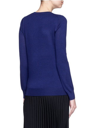 Back View - Click To Enlarge - MARKUS LUPFER - 'Weather Cycle' embellished Emma sweater