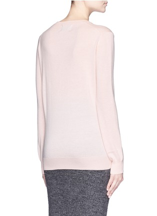 Back View - Click To Enlarge - MARKUS LUPFER - 'Mini Lara Lip' sequin Natalie sweater