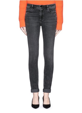 Detail View - Click To Enlarge - T By Alexander Wang - 'Wang 001' washed skinny jeans
