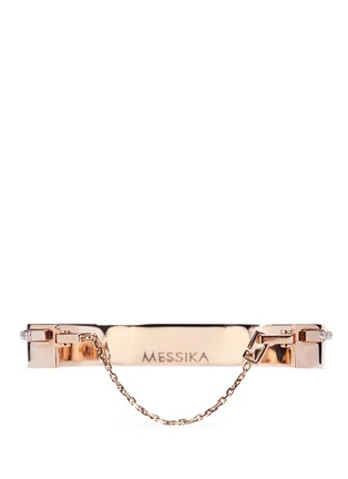 Detail View - Click To Enlarge - Messika - 'Kate' diamond 18k rose gold bangle