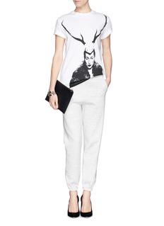 MCQ ALEXANDER MCQUEEN'Lady Antler' boyfriend T-shirt