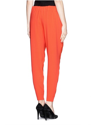 Back View - Click To Enlarge - Stella McCartney - Cady back wool knit jogging pants