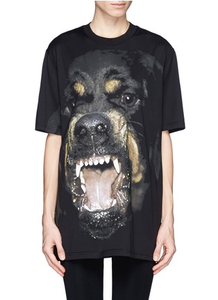 Main View - Click To Enlarge - Givenchy - Rottweiler print T-shirt