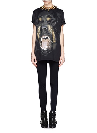 Figure View - Click To Enlarge - Givenchy - Rottweiler print T-shirt