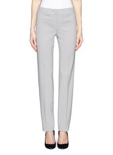 ARMANI COLLEZIONIFlat front crepe pants