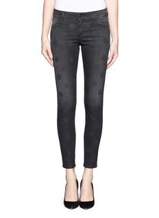 STELLA MCCARTNEYPolka dot cropped jeans