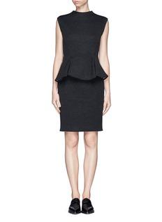 LANVINNeoprene peplum dress