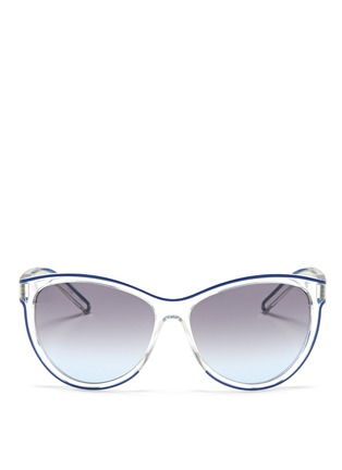 Main View - Click To Enlarge - Chloé - Plastic cat eye sunglasses