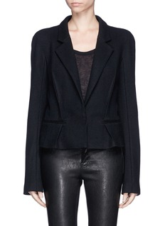 HAIDER ACKERMANN Pleat cropped blazer