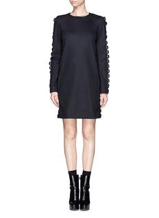 CHLOÉCrochet seam shift dress
