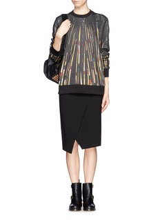 GIVENCHYSequin print pullover