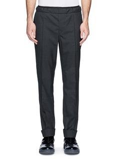 VALENTINOElasticated waistband tailored wool pants
