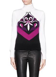 EMILIO PUCCIIntarsia Suzani wool sweater