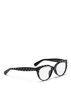 DOLCE & GABBANAPolka dot print optical glasses