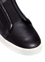 'Caden' leather slip-on sneakers