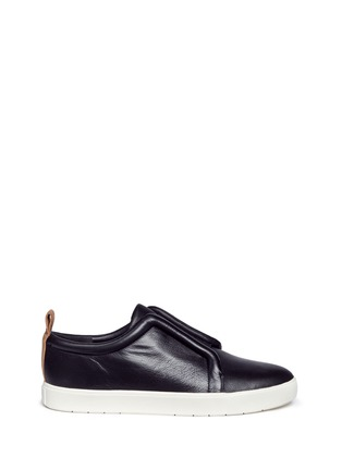 Main View - Click To Enlarge - Vince - 'Caden' leather slip-on sneakers