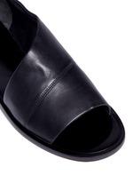 'Tabitha-2' asymmetric leather sandals