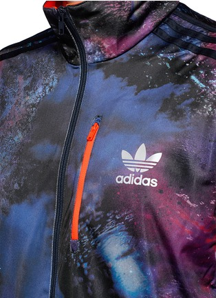 Detail View - Click To Enlarge - Adidas - 'Running Beckenbauer' print track jacket