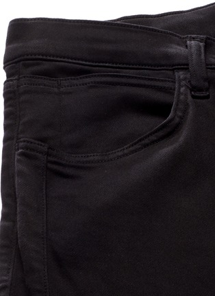 - J Brand - 'Bearden Moto' quilted knee pants