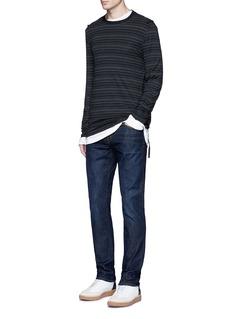 J Brand'Kane' straight leg jeans