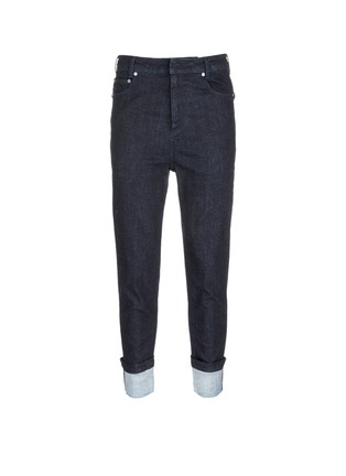 Main View - Click To Enlarge - Neil Barrett - Rolled cuff jeans