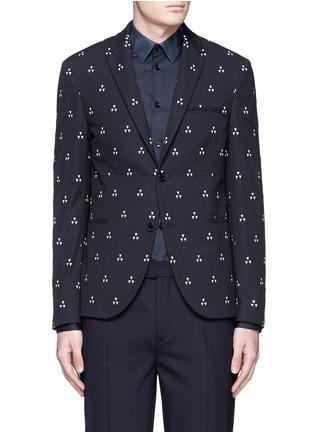 首图 - 点击放大 - NEIL BARRETT - 三角印花混棉西服外套