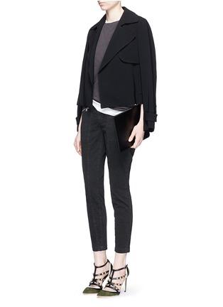J Brand-'Genesis' zip front luxe twill utility pants