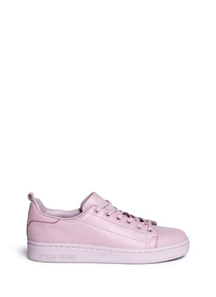 Main View - Click To Enlarge - Opening Ceremony - 'Azull' leather sneakers
