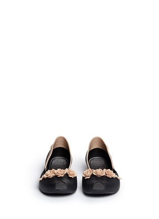 Front View - Click To Enlarge - Melissa - x Alexandre Herchcovitch 'Flower Queen' PVC flats