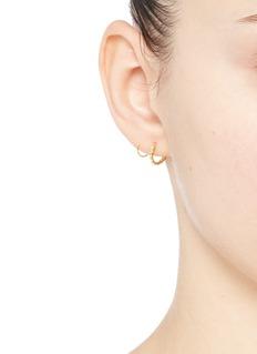 MARIA BLACK'Klaxon Twirl' spiral earrings