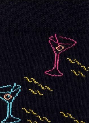 细节 - 点击放大 - HAPPY SOCKS - 鸡尾酒主题袜子