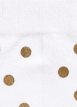 Happy Socks-Metallic dot socks