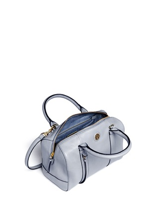 Detail View - Click To Enlarge - Tory Burch - 'Brodie' small leather satchel