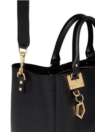 Detail View - Click To Enlarge - Sophie Hulme - Adjustable leather tote