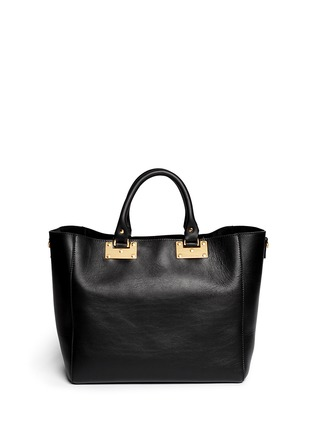 Back View - Click To Enlarge - Sophie Hulme - Adjustable leather tote