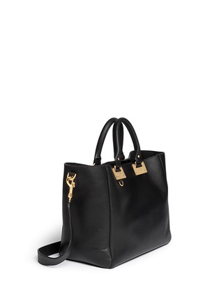Front View - Click To Enlarge - Sophie Hulme - Adjustable leather tote