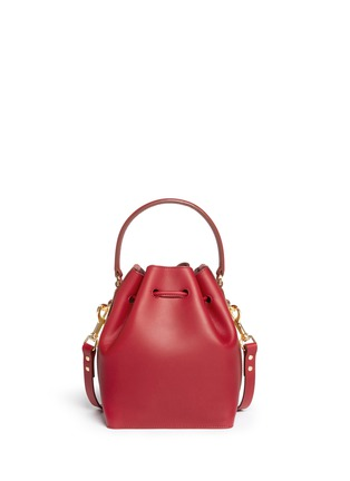 Back View - Click To Enlarge - Sophie Hulme - Small leather drawstring bucket bag