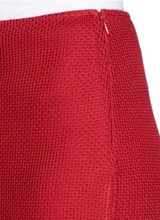 Detail View - Click To Enlarge - ST. JOHN - Textured wool blend knit pencil skirt