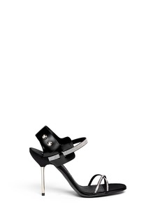 PEDRO GARCÍA'Matilda' Swarovski crystal pavé sandals