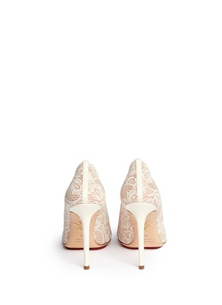Back View - Click To Enlarge - Charlotte Olympia - 'Monroe' lace pumps