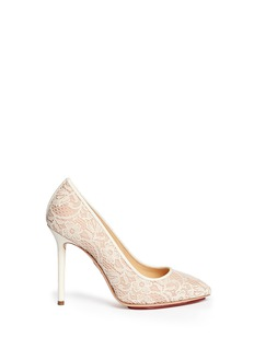 CHARLOTTE OLYMPIA Monroe lace pumps