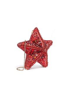 Judith Leiber'Fromia Starfish' crystal pavé minaudière