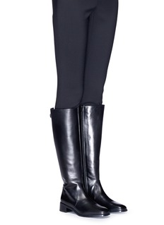 Stuart Weitzman 'Knee Deep' leather knee high riding boots