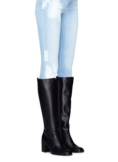 Stuart Weitzman 'Suburb' leather knee high boots
