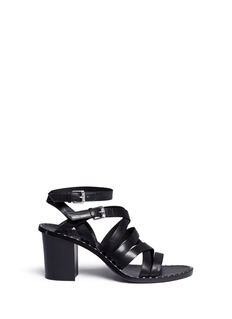 Ash 'Puket' stud strappy leather sandals