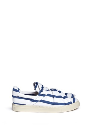 Ports 1961 - Twist bow stripe slip-ons